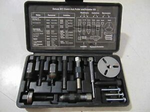 Mac Tools Deluxe A c Clutch Hub Puller And Installer Kit Ac20868