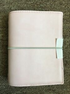 Nwot Filofax Light Pink Domino Pocket Planner