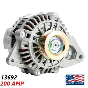 200 Amp 13692 Alternator Mitsubishi Montero Sport High Output Performance New Hd