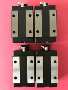 Lot Of 4 Pmi Linear Bearing Blocks Cnc Rail Cars Msa25sssf1 S3 16000473 40 008