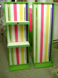 Green Kate Spade Retail Self Standing Display Rack