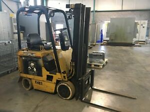 Caterpillar M30d Electric Forklift Cat needs Battery And Charger Fork Truck
