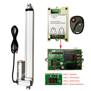Set Of 10 Stroke Linear Actuator 12v 4mm s Motor W Wireless Remote Controller