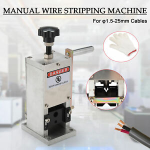 Manual Wire Stripping Machine Portable Scrap Cable Stripper