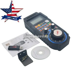 Cnc Mach3 Whb04b Wireless Handwheel 6 axis Manual Controller Usb Mpg Us