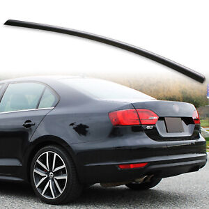 Fyralip Rear Trunk Lip Spoiler For Volkswagen Vw Jetta Mk6 11 14 Sedan