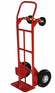 Milwaukee Hand Trucks 49180 Convertible Truck With 10 inch Pneumatic Tires