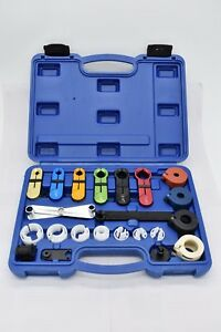 22pc Deluxe A C Transmission Fuel Line Disconnect Tool Set
