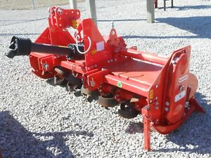 Used Rotary Tiller Maschio U180 73 Tractor 3 pt Pto 50 80hp Gearbox