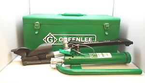New Greenlee 1725 Hydraulic Foot Pump W 800f Cable Bender 800f1725