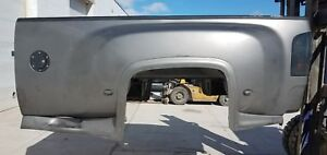 2008 Chevy Gm Dually 8 Pewter Take off Truck Bed Liner Tb104 Gate Available