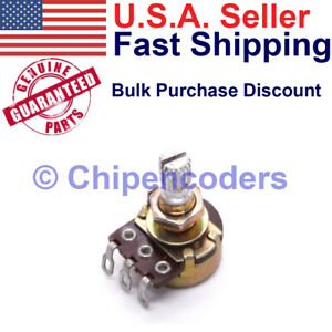 Alpha B100k Linear Pot Potentiometer 6mm Shaft 5w 500v Variable Resistor