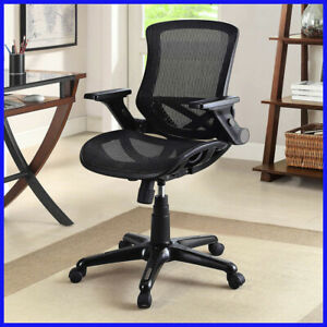 no Tax Office Impressions 4818 Mesh Task Chair Black Free Shipping