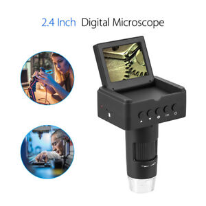 Um025 2 4 Inch Lcd 10 220x Digital Microscope Hd tv usb Output 3mp For Students