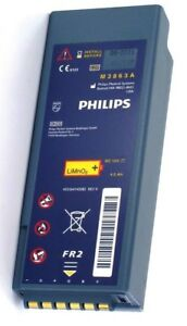Philips Heartstart Fr2 Fr2 Aed Battery M3863a Guaranteed Working Free Shipping