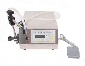 Gfk160 Digital Control Magnetic Pump Automatic Liquid Filling Machine 5 3500ml