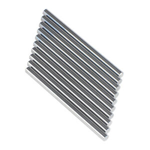 10pcs Tungsten Carbide Rod 1 4 Diameter 4 Length Ground Precision Tolerance