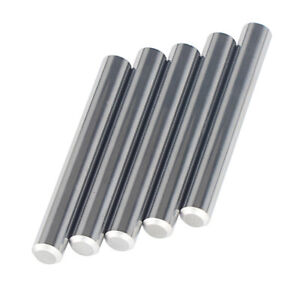 5pcs Tungsten Carbide Rod D3 8x3 Precision Ground Polished Chamfer One End