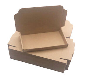 200 7 1 2 X 4 1 3 X 1 Brown Corrugated Shipping Mailer Packing Box Boxes