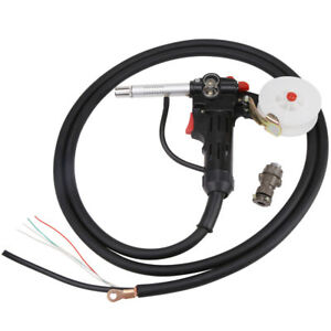 Welding Spool Gun Push Pull Feeder Aluminum Torch Welder With 3 Meter Cable Ams