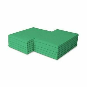 8 5 X 5 5 Meadow Green Colored Memo Pads 100 Sheets pad 5 Pads pack