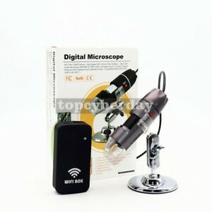 Protable 1000x Usb Led Digital Electronic Microscope Magnifier Video Camera