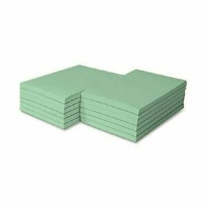 8 5 X 5 5 Pastel Green Colored Memo Pads 100 Sheets pad 5 Pads pack