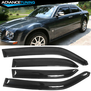 Fits 05 10 Chrysler 300 Dodge Magnum Acrylic Window Visors 4pc