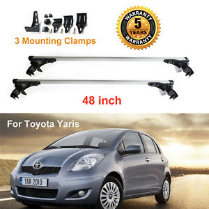 New For Toyota Yaris 2007 2010 Car Roof Cross Bar Cargo Luggag Carrier Rack