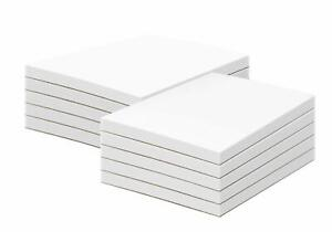 White Memo Pads 50 Sheets Per Pad 10 Pads Per Pack With A Chipboard On The B