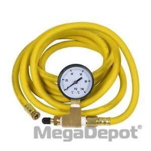 Cherne 274228 10ft 3 16 Id Extension Hose With Gauge