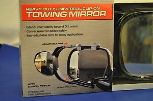 Heavy Duty Universal Clip On Towing Mirror