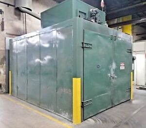 Delta Industries Gas Fired Walk In Oven 145x191 Df 10158 480v 599 Deg F