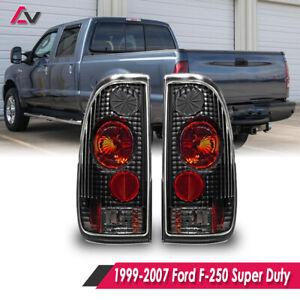 Altezza Tail Lights Styleside For 1997 2003 Ford F 150 F 250 F 350 Black clear
