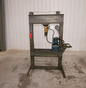 12106 Enerpac 20 Ton H frame Hydraulic Press