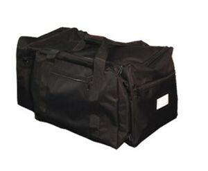 Black Firefighter Utility Gear Bag Extra Large High Capacity