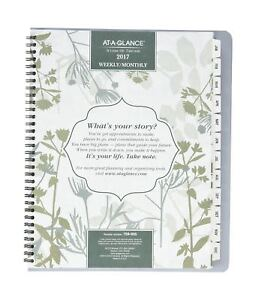 At a glance Weekly monthly Planner Botanique Design aag759905