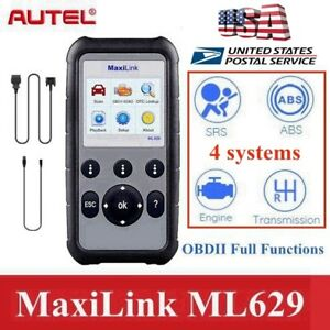 Autel Can Obd2 Scanner Diagnostic Scan Tool Abs Srs Mil Transmission Gm Bmw Benz