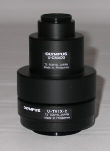 Olympus U tv1x 2 U cmad3 C mount For The Bx Cx Series Microscopes Oem