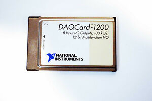 usa National Instruments Ni Pcmcia Daqcard 1200 Ni Daq Card Analog Input