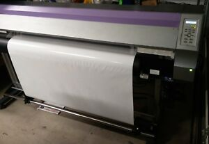 Mimaki Jv33 160 64 W take Up Reel Permanent Chips Needs Service