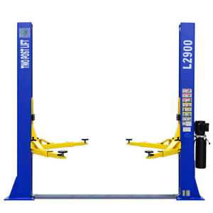 9 000 Lb Capacity L2900 2 Post Car Lift Auto Truck Hoist 220 Volt