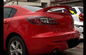 Factory Style Spoiler Wing Abs For 2010 2013 Mazda 3 Sedan Spoiler Wing A