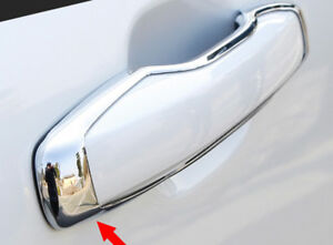 Abs Chrome Door Handle Hollow Style Cover Trim 4pcs For Volvo Xc60 2018 2020