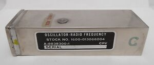 Oscillator Radio Frequency Adjust Crystal 1600 013066004