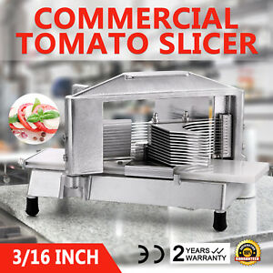 Commercial Tomato Slicer Cutter 3 16 Pushing Block Bonus Blade Industrial