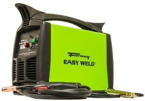 Forney Welding Machine Mig 120v 125 Amp Gasless Flux Core Electric Wire feed
