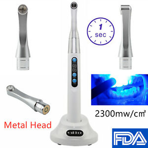 White Brand Vakker Dental Led Curing Light 1 Second Cure Lamp 2000mw c