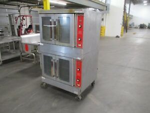 Vulcan Double Deck Oven Vc6gd 38 1ph 115v Used