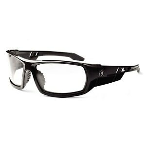 Ergodyne Skullerz Odin Safety Glasses Black Frame